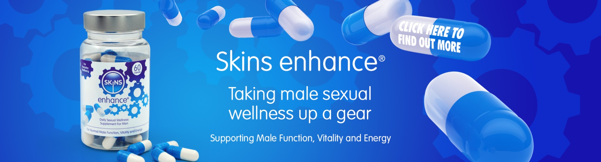 Skins Enhancements Pills| All Natural Male Sexual Wellness