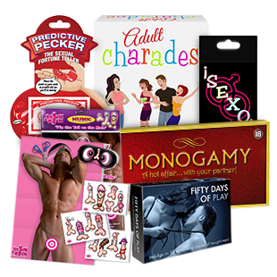 Adult games & Novelties