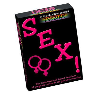 Sexo! Lesbiano Card Game (Spanish)