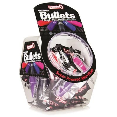 Screaming O 3+1 Soft Touch Bullets in Candy Bowl (40)