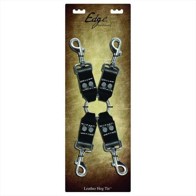 Edge Leather Hog Tie