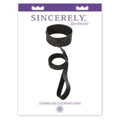 Sincerely Locking Lace Collar & Leash