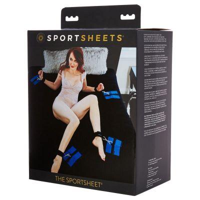 SPORTSHEETS BONDAGE BED SHEET