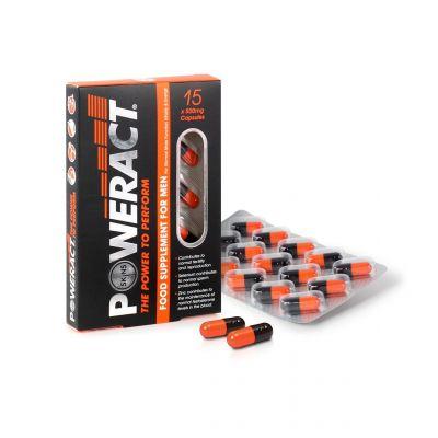 Poweract Pills - 15 Pack