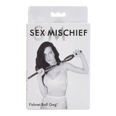 S&M Fishnet Ball Gag