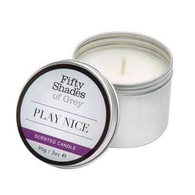 Fifty Shades of Grey Play Nice Vanilla Candle 90g