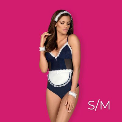 Obsessive - Maid teddy S/M - Blue
