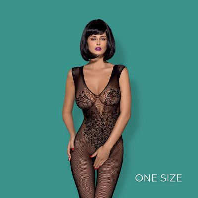 Obsessive - Bodystocking N112 S/M/L-  Black
