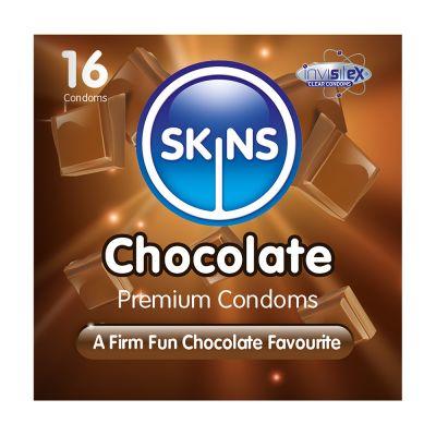 Skins Condoms Chocolate 16 Pack